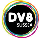 Dv8 Sussex logo - circle